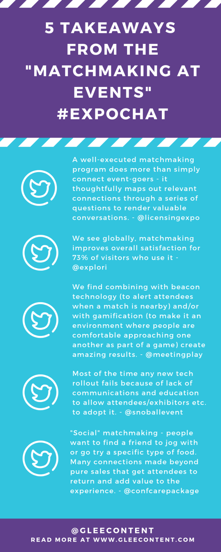 3 TakeAways from matchmaking #expochat